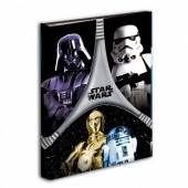 Dossier Star Wars Flash A4 4 argolas