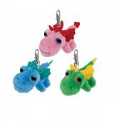 Dragão Rosa porta chaves Li´l Peepers