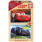 Dulplo Puzzle de 25 peças Cars