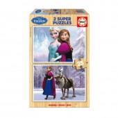 Duplo Puzzle madeira Frozen 25 peças