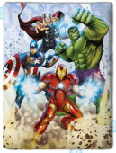 Edredon reversivel Avengers