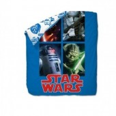 Edredon reversivel Star Wars