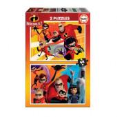 Educa - 2 Puzzles The Incredibles 48pcs