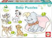 Educa 5 Baby Puzzles Animais Disney