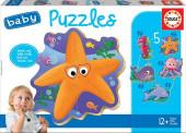 Educa Baby Puzzles Animais Marinhos