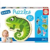 Educa Baby Puzzles Animais Tropicais