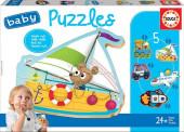 Educa Baby Puzzles Veículos 2