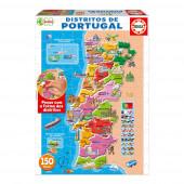 Educa - Puzzle Distritos de Portugal Educa