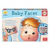 Educa - Puzzle Infantil Baby Faces
