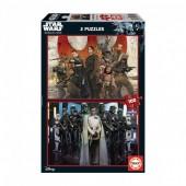 Educa - Puzzle Rogue One Star Wars 2 x 100 pcs