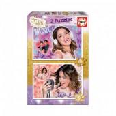 Educa - Puzzle Violetta 2 x 100 pcs