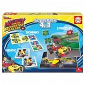 Educa Superpack Jogos Mickey 4 em 1
