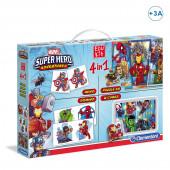 Edukit 4 em 1 Super Hero Marvel