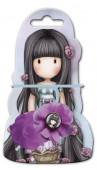 Elásticos cabelo Gorjuss com flor