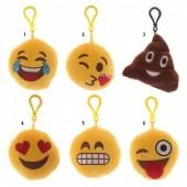 Emoji Peluche Porta Chaves c/ Som