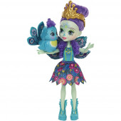 Enchantimals Boneca Patter Peacock & Flap