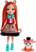 Enchantimals Boneca Tanzie Tiger e Tuft