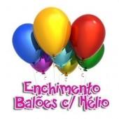 Enchimento Balões com Hélio