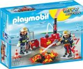 Equipa de Bombeiros Playmobil City Action - 5397