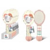 Escova cabelo com elásticos Gidget Mascotes Pets