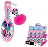 Escova Cabelo + Porta Chaves Minnie Disney