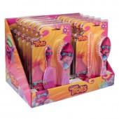 Escova de cabelo Trolls - Sortido