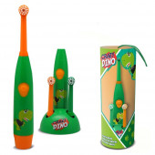 Escova Dentes Elétrica Crazy Dino
