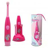 Escova Dentes Elétrica Cupcakes