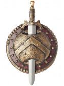 Escudo e Espada Espartano