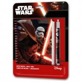 Esferográfica+Bloco Star Wars