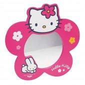 Espelho Madeira Hello Kitty