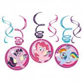 Espirais decorativas My Little Pony 6 uni