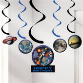 Espirais Decorativas Space Blast - 5 uni