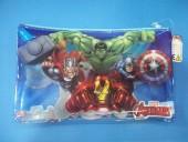 Estojo bolsa necessaire transparente Marvel Avengers
