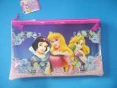 Estojo bolsa transparente Disney Princesas