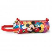Estojo cilíndrico com pega Mickey Disney Crayons