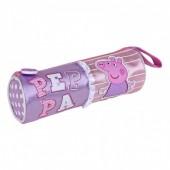 Estojo Cilíndrico Fantasia Peppa Pig 21cm