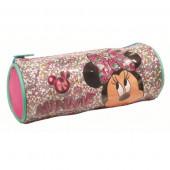 Estojo Cilindrico Minnie com Glitter