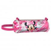 Estojo cilíndrico Minnie Disney Bubblegum