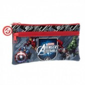 Estojo com 2 divisórias Avengers Assembles