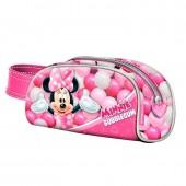 Estojo com pega Minnie Disney - Bubblegum