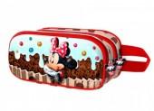 Estojo duplo 3D Minnie Disney Muffin