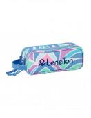 Estojo Duplo Benetton Arcobaleno