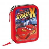 Estojo Duplo Plumier Cars Disney - Street X