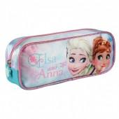 Estojo Elsa and Anna Frozen Disney