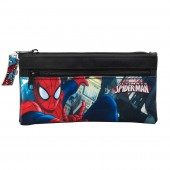 Estojo escolar 2 fechos Ultimate SpiderMan Marvel