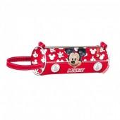 Estojo escolar cilindrico de Mickey Mouse - Funny