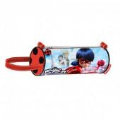 Estojo escolar cilindrico Ladybug - Marinette