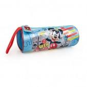 Estojo escolar circular premium Mickey Beats