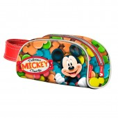 Estojo escolar com asa Mickey Disney - Candy